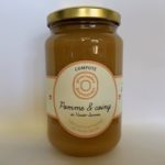 Compote pomme et coings de Haute-Savoie 380g