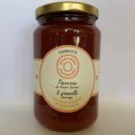 Compote pomme de Haute-Savoie et groseille sauvage 380g