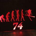 Tableau lumineux  Evolution Freeride 74