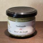 TARTINADE BROC' DE OUFFF – 115 Gr (Brocoli) VEGAN – Contient du Soja – Gingembre – **** CHAINE DU FROID A RESPECTER ****
