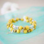 Bracelet d'allaitement – Safran