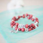 Bracelet d'allaitement – Vieux rose