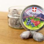 Bonbons myrtilles/framboises 80g