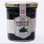 Confiture de myrtilles sauvages 360g