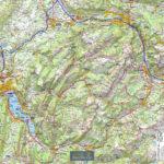 Tour de cou – Annecy Aravis – Echelle 100 000 Touristique